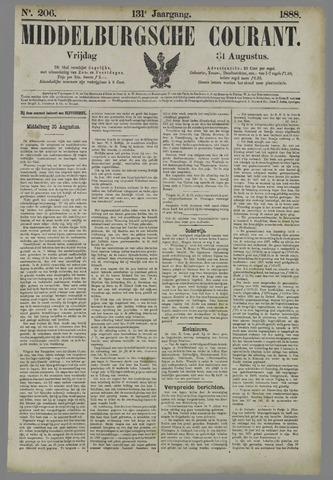 Middelburgsche Courant 1888-08-31