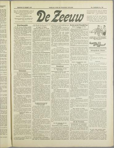 De Zeeuw. Christelijk-historisch nieuwsblad voor Zeeland 1937-03-22