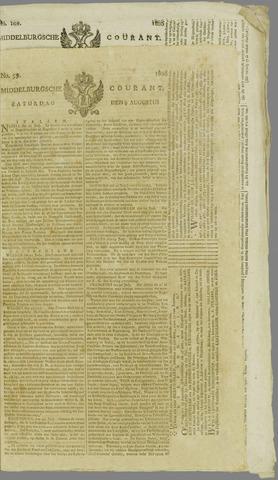 Middelburgsche Courant 1806-08-09