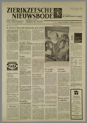 Zierikzeesche Nieuwsbode 1965-02-12
