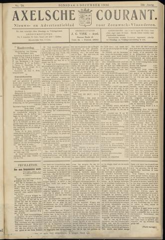 Axelsche Courant 1936-12-08