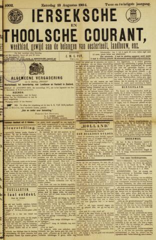 Ierseksche en Thoolsche Courant 1904-08-13