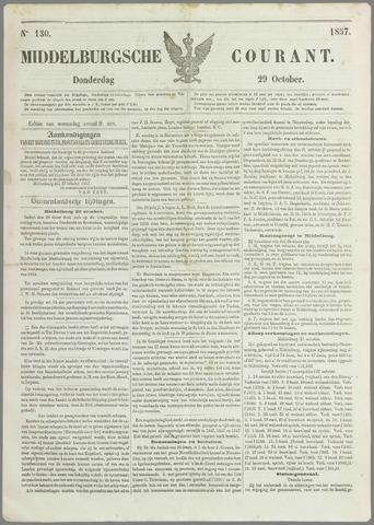 Middelburgsche Courant 1857-10-29
