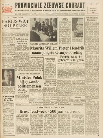 Provinciale Zeeuwse Courant 1968-04-23
