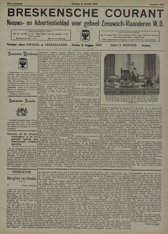 Breskensche Courant 1938-10-18