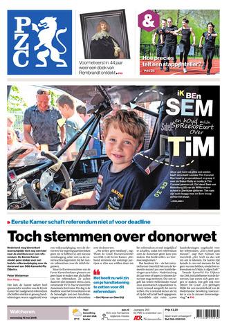 Provinciale Zeeuwse Courant 2018-05-16