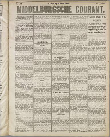 Middelburgsche Courant 1921-05-02