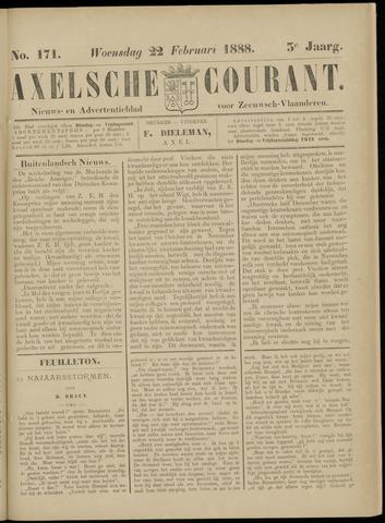 Axelsche Courant 1888-02-22