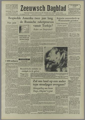 Zeeuwsch Dagblad 1957-10-21