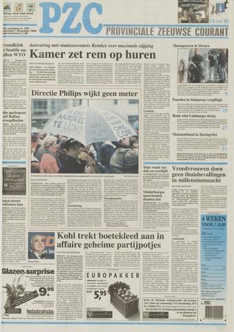 Provinciale Zeeuwse Courant 1999-12-01