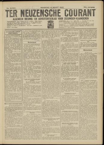 Ter Neuzensche Courant. Algemeen Nieuws- en Advertentieblad voor Zeeuwsch-Vlaanderen / Neuzensche Courant ... (idem) / (Algemeen) nieuws en advertentieblad voor Zeeuwsch-Vlaanderen 1942-03-16