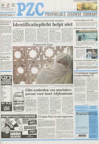 Provinciale Zeeuwse Courant 2001-09-27