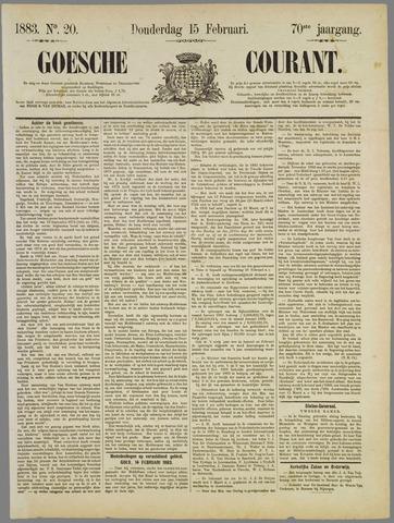 Goessche Courant 1883-02-15