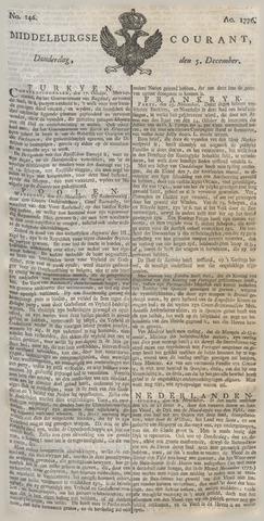 Middelburgsche Courant 1776-12-05