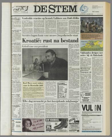 de Stem 1992-01-04