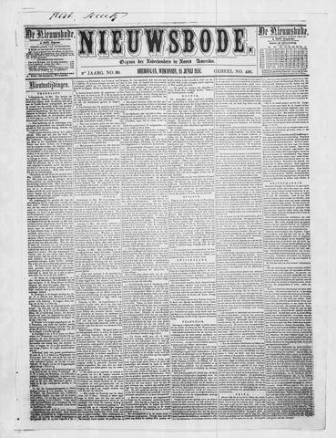 Sheboygan Nieuwsbode 1858-06-15