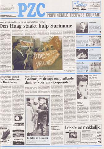 Provinciale Zeeuwse Courant 1990-12-27