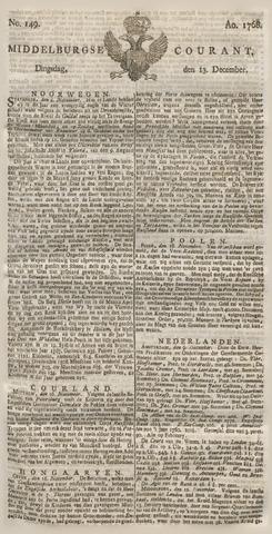 Middelburgsche Courant 1768-12-13