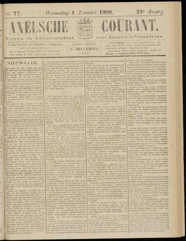 Axelsche Courant 1908