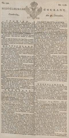 Middelburgsche Courant 1779-12-30