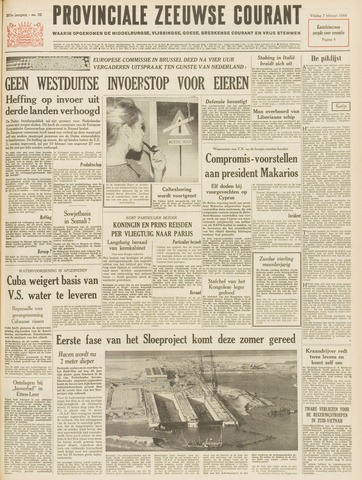 Provinciale Zeeuwse Courant 1964-02-07