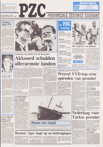 Provinciale Zeeuwse Courant 1988-09-26