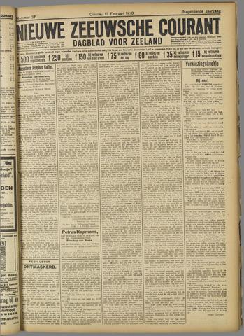 Nieuwe Zeeuwsche Courant 1923-02-13