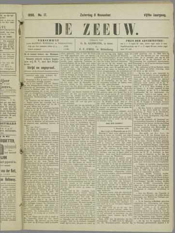 De Zeeuw. Christelijk-historisch nieuwsblad voor Zeeland 1890-11-08