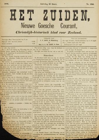 Het Zuiden, Christelijk-historisch blad 1886-03-20