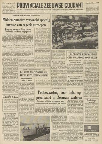 Provinciale Zeeuwse Courant 1958-03-10