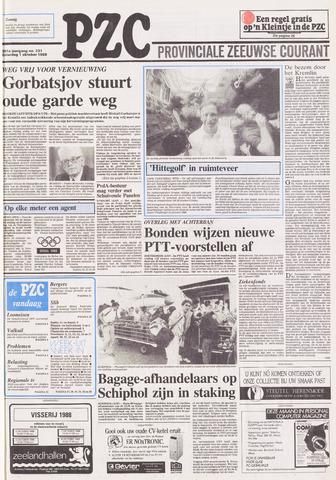 Provinciale Zeeuwse Courant 1988-10-01
