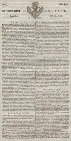 Middelburgsche Courant 1761-03-21