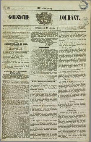 Goessche Courant 1856-04-24