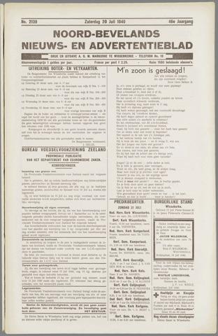 Noord-Bevelands Nieuws- en advertentieblad 1940-07-20