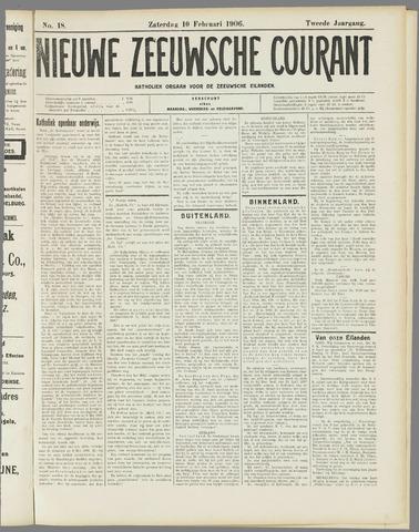 Nieuwe Zeeuwsche Courant 1906-02-10