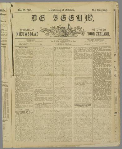 De Zeeuw. Christelijk-historisch nieuwsblad voor Zeeland 1901-10-03