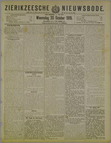 Zierikzeesche Nieuwsbode 1915-10-20