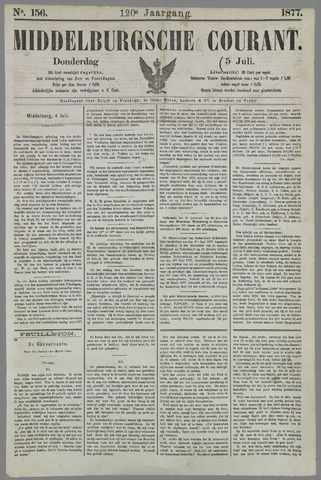 Middelburgsche Courant 1877-07-05