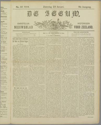 De Zeeuw. Christelijk-historisch nieuwsblad voor Zeeland 1904-01-23