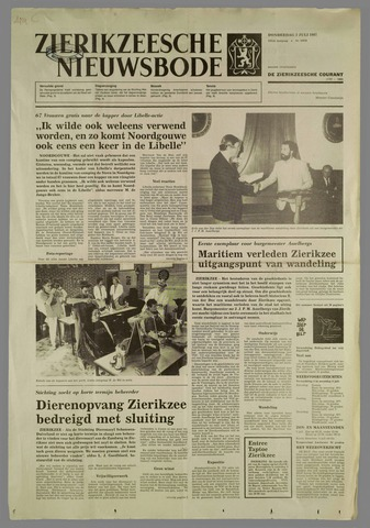 Zierikzeesche Nieuwsbode 1987-07-02