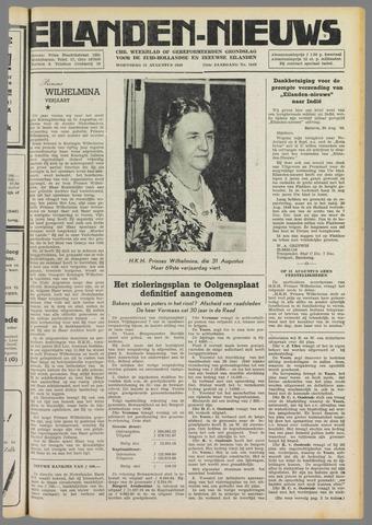 Eilanden-nieuws. Christelijk streekblad op gereformeerde grondslag 1949-08-31