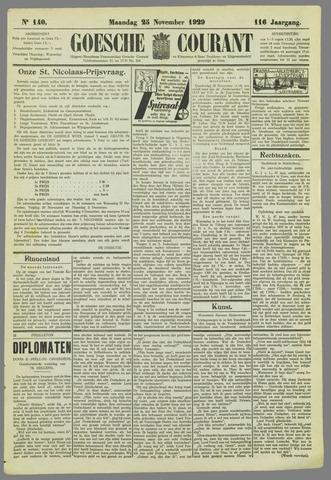 Goessche Courant 1929-11-25