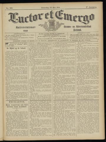 Luctor et Emergo. Antirevolutionair nieuws- en advertentieblad voor Zeeland / Zeeuwsch-Vlaanderen. Orgaan ter verspreiding van de christelijke beginselen in Zeeuwsch-Vlaanderen 1914-05-23