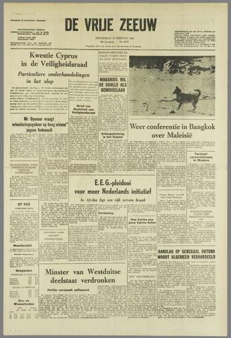 de Vrije Zeeuw 1964-02-27