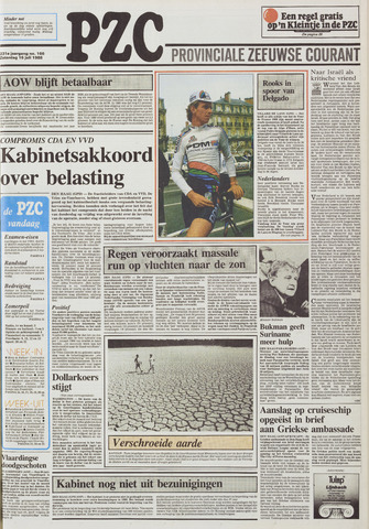Provinciale Zeeuwse Courant 1988-07-16