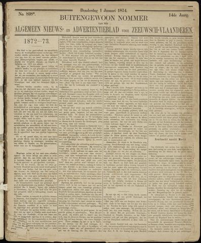 Ter Neuzensche Courant. Algemeen Nieuws- en Advertentieblad voor Zeeuwsch-Vlaanderen / Neuzensche Courant ... (idem) / (Algemeen) nieuws en advertentieblad voor Zeeuwsch-Vlaanderen 1874