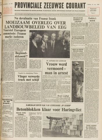 Provinciale Zeeuwse Courant 1969-08-12