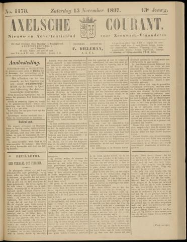 Axelsche Courant 1897-11-13