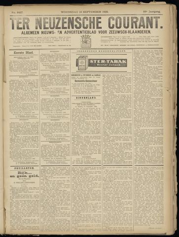 Ter Neuzensche Courant. Algemeen Nieuws- en Advertentieblad voor Zeeuwsch-Vlaanderen / Neuzensche Courant ... (idem) / (Algemeen) nieuws en advertentieblad voor Zeeuwsch-Vlaanderen 1929-09-18