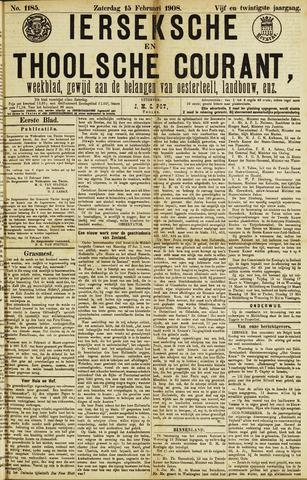 Ierseksche en Thoolsche Courant 1908-02-15
